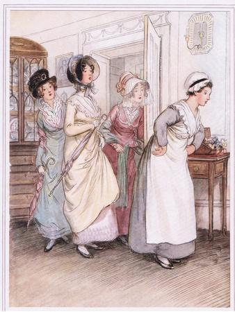 Patty Ushers in the Sisters, Willoughby and Miss Henrietta