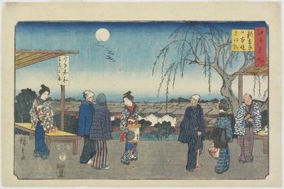 Jewel River of Koya in Kii Province, December 1863