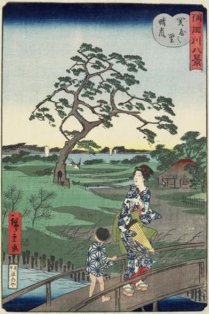Weather Clearing at Sekiya Village, November 1861