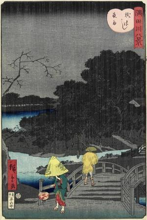 Night Rain at Makura Bridge, November 1861