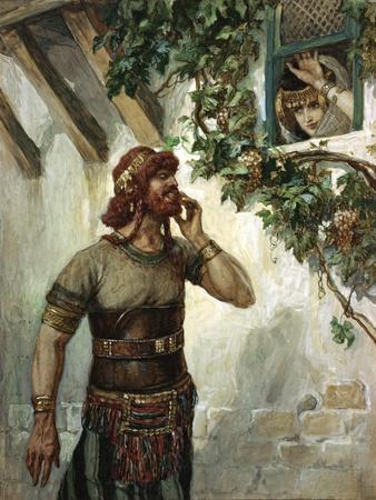 Samson Seeth Delilah at Her Window