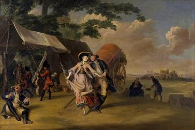Dance in a Camp, 1765
