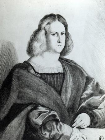 Portrait of a Young Man, Print by Wenceslaus Hollar, 1650