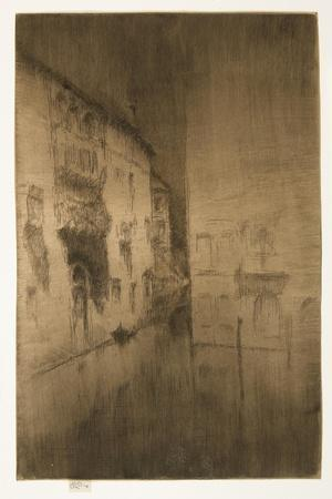 Nocturne: Palaces from The Second Venice Set, 1879-1880