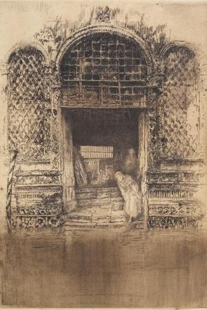 The Old Doorway from The First Venice Set, 1879-1880