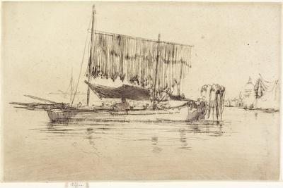 Fishing-Boat from The Second Venice Set, 1879-1880