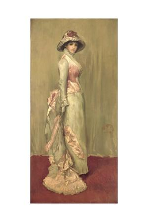 Harmony in Pink and Grey: Lady Meux, 1881