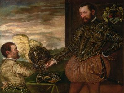Scipio Clusone with a Dwarf Valet