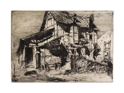 The Unsafe Tenement from Twelve Etchings from Nature, 1858