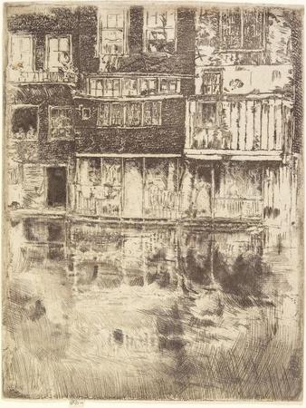 Square House, Amsterdam, 1889