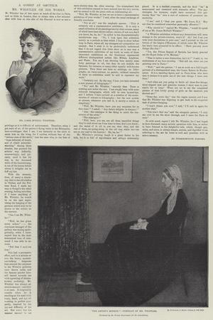 Mr Whistler on His Works