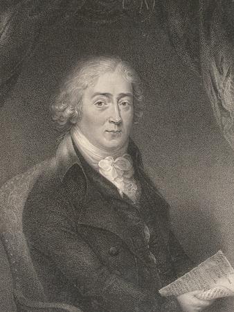 Portrait of Venanzio Rauzzini (1746-1810) Engraved by Robert Hancock (1730-1817)