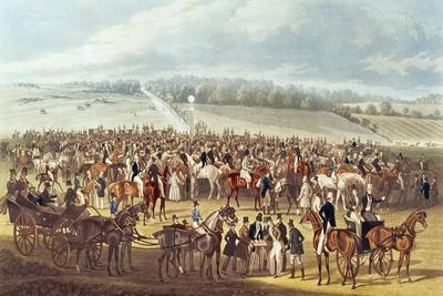 The Betting Post, Epsom, 1830