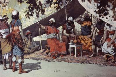 Ben-Hadad and the Kings Drinking in the Tent