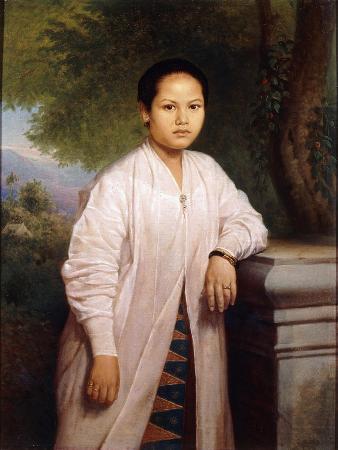 Portrait of Seima, 1867