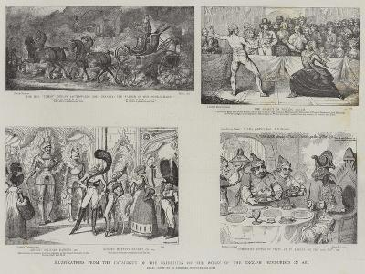 Illustration from the Catalogue of the Exhibition of the Works of the English Humourists in Art