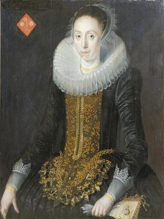 Portrait of Eritia Aukje Hoppers, Nee De Blocq, 1622