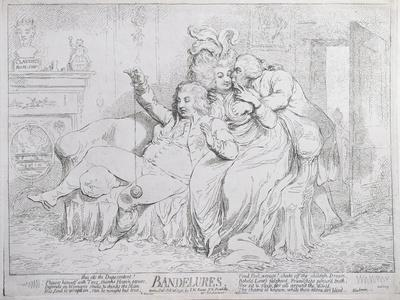 Bandelures, Published by S.W. Fores in 1791