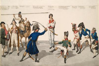 Fencing Lesson, 1814