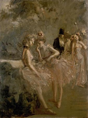 Scene in the Wings of a Theatre, C. 1870 - 1900