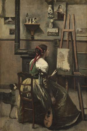 The Artist's Studio, C.1868