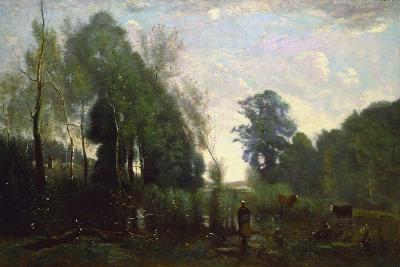 Misty Morning, C.1865