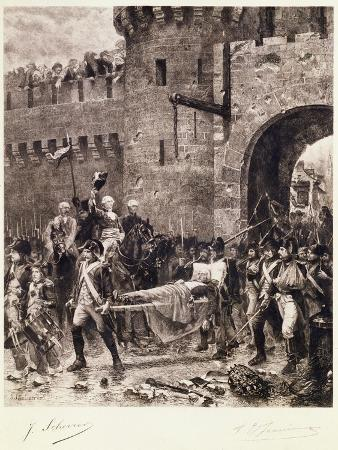 The Death of Bonchamps in 1793