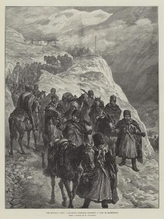 The Russian Army, Caucasian Cossacks Crossing a Pass in Daghestan