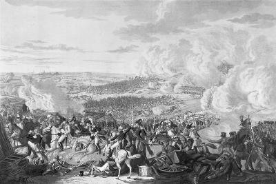 Napoleon's Flight at the Battle of Waterloo, 18 June 1815, 1816