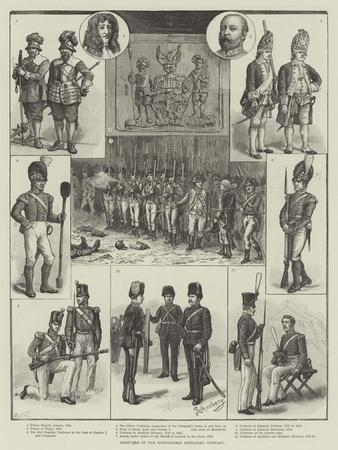 Sketches of the Honourable Artillery Company