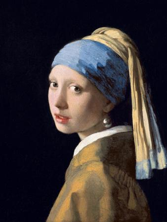 Girl with a Pearl Earring, C.1665-6
