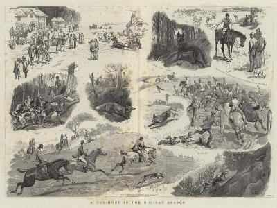 A Fox-Hunt in the Holiday Season