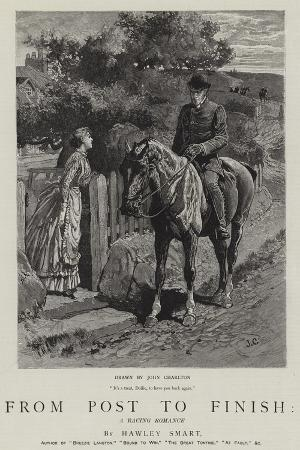 From Post to Finish, a Racing Romance