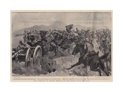 The Ambush at Koorn Spruit, a Gun Team Running Amok