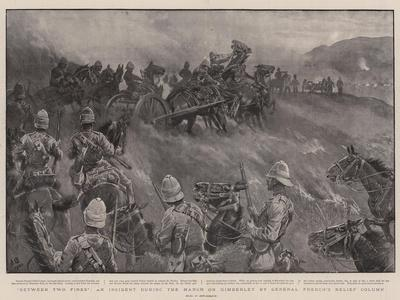 Between Two Fires, an Incident During the March on Kimberley by General French's Relief Column