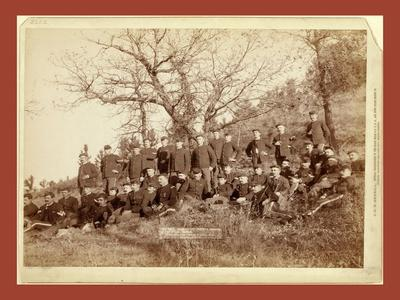Company C, 3rd U.S. Infantry Near Fort Meade, So. Dak