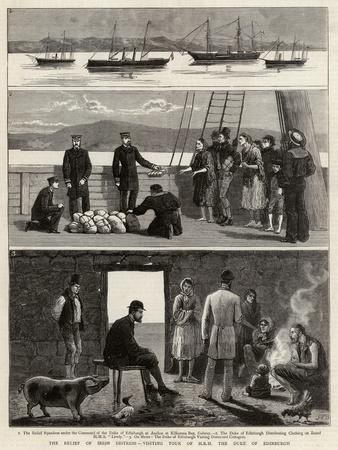 The Relief of Irish Distress, Visiting Tour of Hrh the Duke of Edinburgh