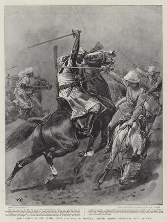 The Pursuit of the Enemy after the Fall of Dongola, Captain Adams's Adventure with an Emir