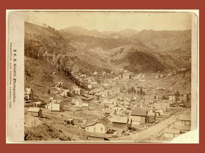 Engleside and Cleveland [Deadwood?] from East of City