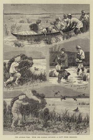 The Afghan War, with the Bombay Division, a Day's Duck Shooting