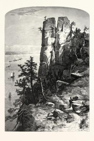 Pinnacles of the Palisades, USA
