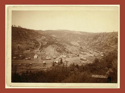 Galena, S, Dakota, Bird's-Eye View from Southwest