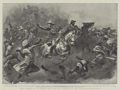 How Colonel R H Martin Led the 21st Lancers at the Battle of Omdurman