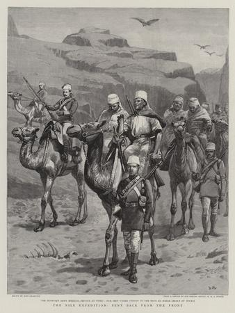 The Nile Expedition, Sent Back from the Front