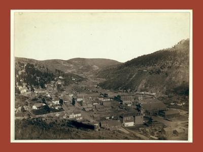 Deadwood, [S.D.] from Mrs. Livingston's Hill