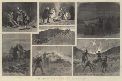 The Afghan War, a Raid on a Cave Village
