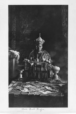 The Deb Raja, Bhutan, 1903-04
