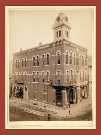 Deadwood's Pride. the Elegant City Hall