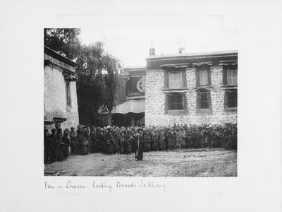 View in Lhasa Looking Towards Jokang, Tibet, 1903-04
