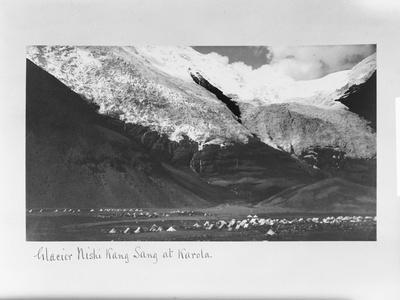Glacier Nishi Kang Sang at Karola, Tibet, 1903-04